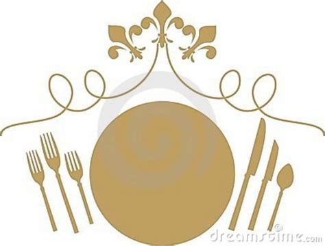 fancy place setting diner clipart fancy dinner pencil and in color diner