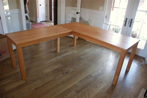 how to build a corner desk from scratch how to build an l shaped desk from scratch desk design ideas