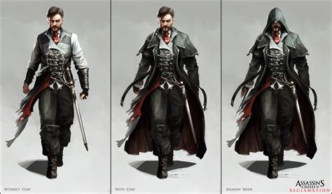 Assassin S Creed V Character Designs By Happy Mutt On Assassins Creed Designs