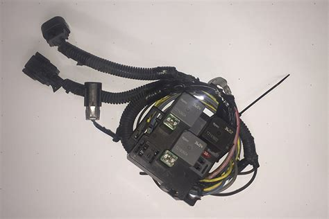 chevy truck oem  electric radiator fans harness