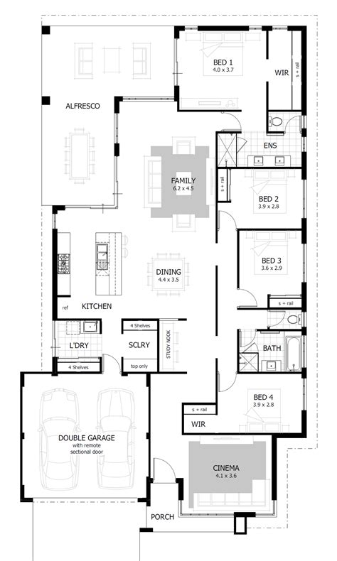design floor plans for free 15 metre wide home designs celebration homes