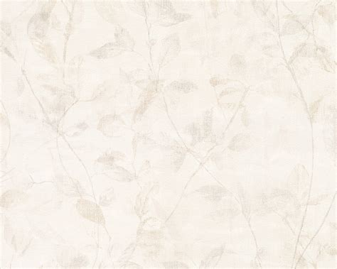 Wallpaper ESPRIT HOME 8 non woven wallpaper 9389 30 938930 vintage leaves beige cream