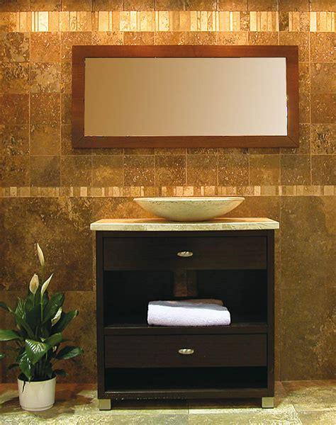 arredo bagno in marmo mobile per bagno in legno e pietra quot fonterutoli quot mogano e