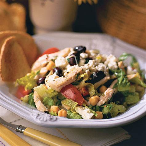 Fast Easy Dinner Salad With Saganaki by And Easy 20 Minute Dinner Recipes Southern Living