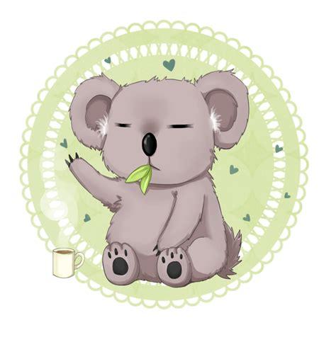 imagenes kawaii de koalas imagenes de dibujo koala