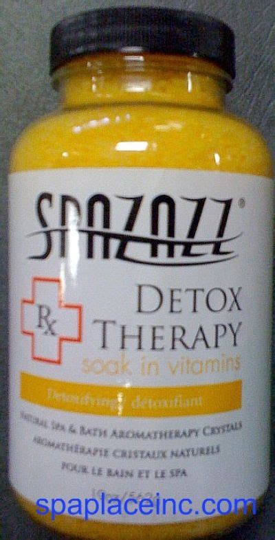 Detox Therapy Spa by Spazazz Detox Therapy Crystals Aromatherapy Spa