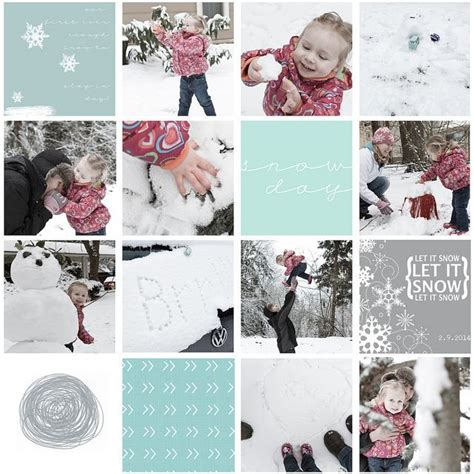 Snow Layout by Project Digital Layout Snow Time Project