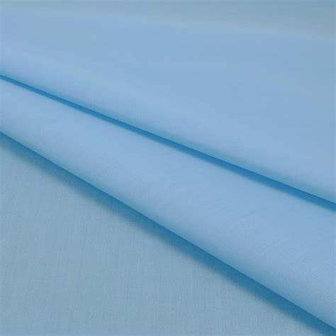 Plain Polycotton 1 plain polycotton fabric 112cm width sky 1 metre