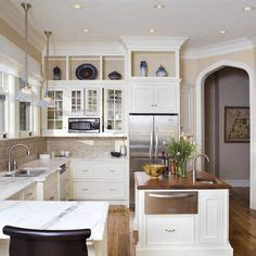 what to do with the space above your kitchen cabinets updating cabinets color and soffit on pinterest two