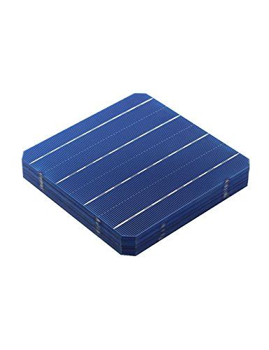 Solar Cell Monocrystalline 156 X 156mm Kit 3 Busbar Solar Panels Best vikocell 100pcs 6 215 6 monocrystalline silicon solar panel cell 156 x 156mm 4 7w for diy solar
