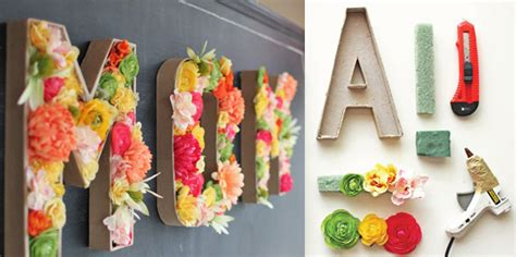 lettere soprammobili parole decorative di fiori designbuzz it