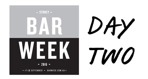s day sequel here s what s on for bar week day 2 australianbartender