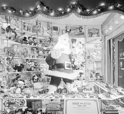 foley s christmas windows in downtown houston in the 1950s