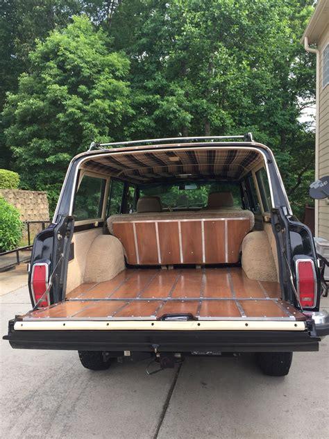 jeep wood box grand wagoneer wood tailgate jeep wagoner