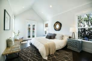contemporary master bedroom with crown molding hardwood contemporary master bedroom with carpet cathedral