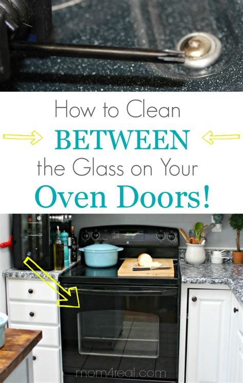 How To Clean A Self Cleaning Oven Glass Door Oven Cleaning Cleaning Oven Door Glass