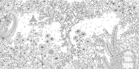 secret garden coloring book comprar el jardin secreto johanna brasford libreria artistica mucha