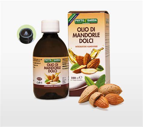 olio di mandorle dolci alimentare olio di mandorle dolci phyto garda srl