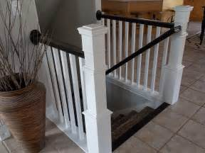 Step Banister Remodelaholic Stair Banister Renovation Using Existing
