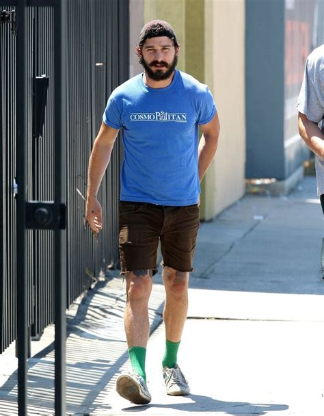 shia labeouf tattoos shia labeouf in shia labeouf shows his leg tattoos