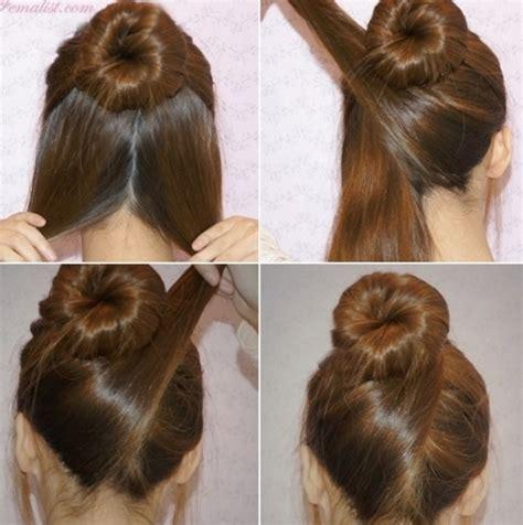 Tutorial Rambut Panjang Untuk Wisuda | tutorial rambut simple untuk wisuda sanggul modern untuk