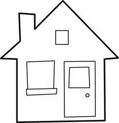 School Clipart Outline by Best House Outline Clipart 27240 Clipartion