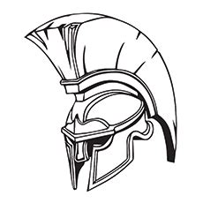 knight helmet coloring page image gallery knight helmet drawing