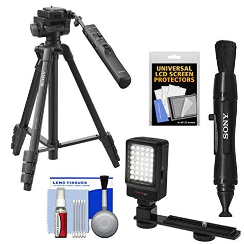Tripod Vct Vpr1 sony vct vpr1 57 quot remote tripod with 3 way pan tilt with led