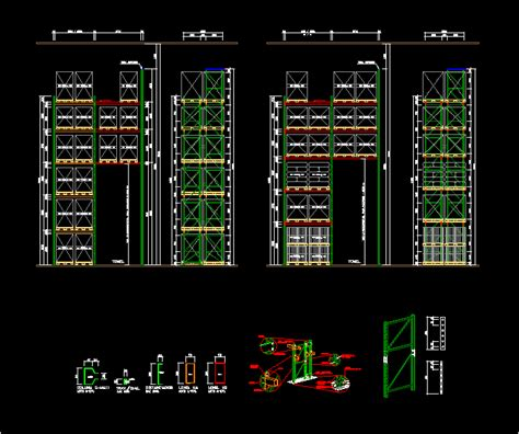 rack dwg block  autocad designs cad