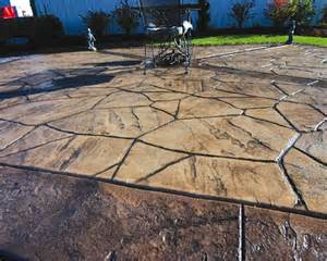 Patio Decor Ideas On A Budget Stamped Concrete History There Are Many Ways To
