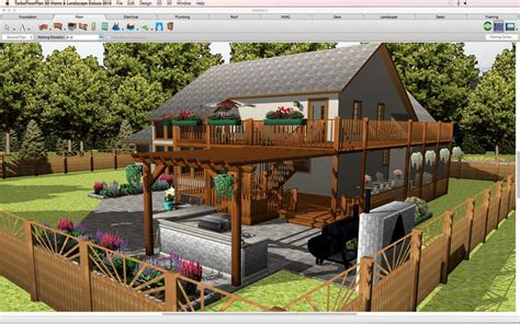 3d home landscape design 5 turbofloorplan 3d home landscape deluxe by imsi design