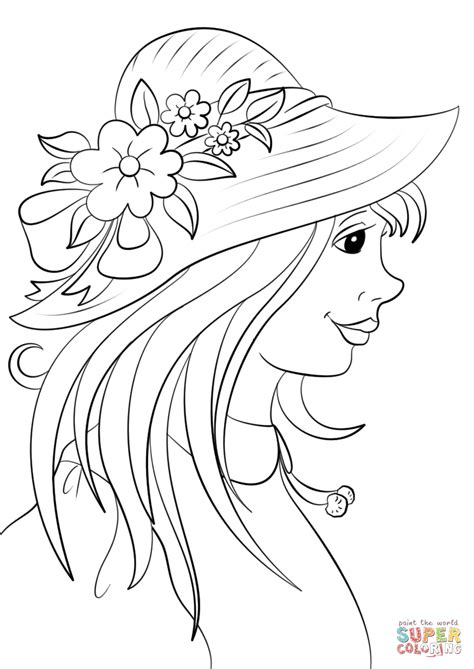 derby hat coloring page kentucky derby hat coloring pages sketch coloring page