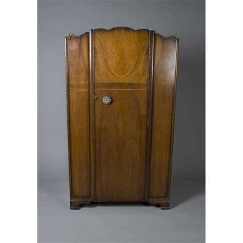 1960s Wardrobe by Circa 1960 S Deco Wardrobe