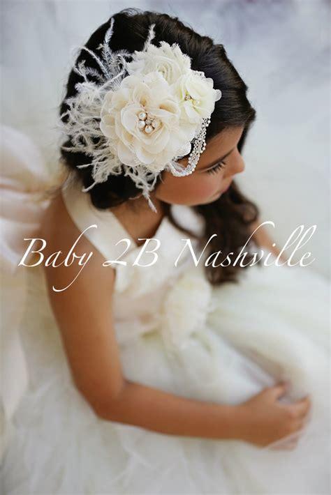 flower girl hair accessories wedding hair accessories ivory wedding hair accessory bridal hair clip flower girl