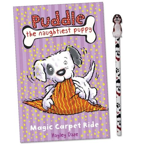 the puddle club books puddle the naughtiest puppy magic carpet ride