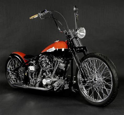 Chopper Motorrad Harley by Harley Davidson Custom Choppers Two Tone Harley Davidson