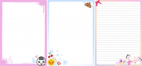 printable cute stationary cute stationery paper designs www imgkid com the image
