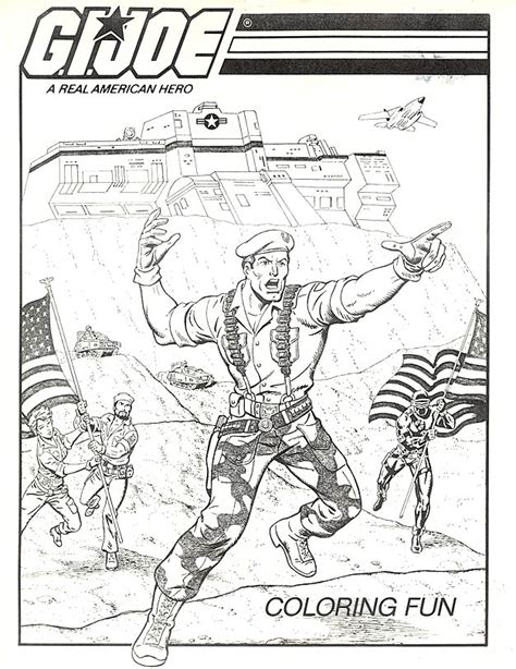 free printable gi joe coloring pages for