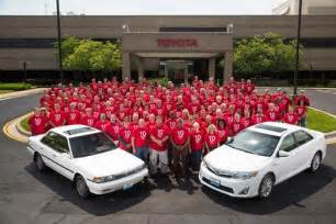 Toyota Plant Kentucky Toyota Celebrates 10 Millionth Vehicle Made In Kentucky
