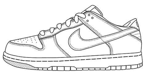 nike football coloring page image result for running shoe line drawing kresby