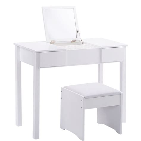 Mirrored Makeup Vanity Table Mirrored Makeup Table Home Furniture Design