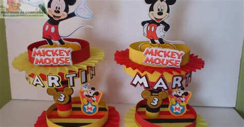 Jo 3265 Kemeja Mickey 1 decoraciones infantiles mickey mouse dulceras