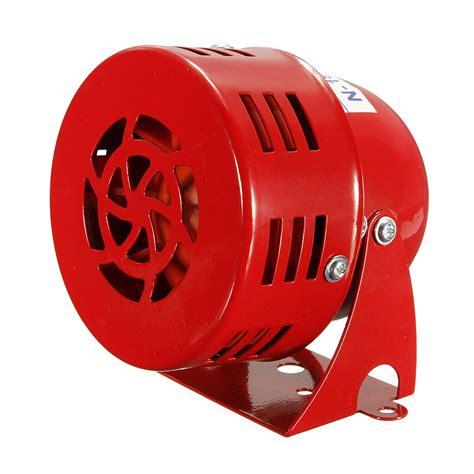 Alarm Horn dc 12v 120db ms 190 industrial motor alarm air raid siren