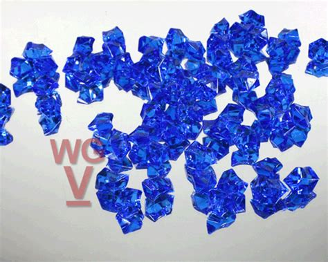 Blue Vase Fillers by Acrylic Rock Vase Fillers 1 Lbs Royal Blue Set Of 1