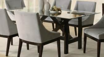 Glass Table Dining Room Glass Dining Table Set