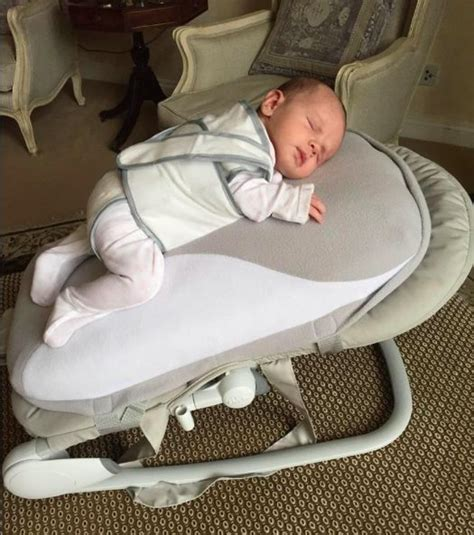 newborn only sleeps in bouncer chair this of a new baby seat has really divided parents