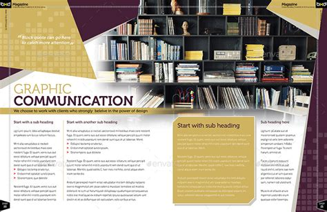 page layout with indesign magazine template indesign 40 page layout v1 by