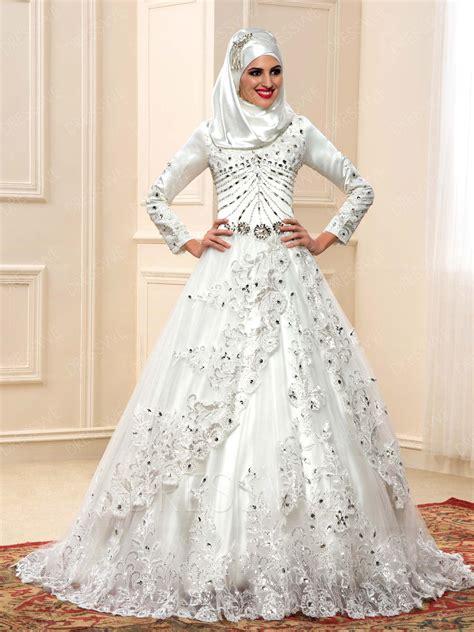 Wedding Hijab Modern Islamic Wedding Gowns Muslim Wedding Dresses Cheap