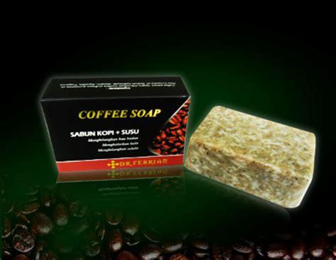 Sabun Coffee paket pemutih wajah coffee soap dr febrian