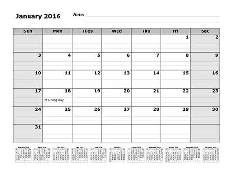 monthly calendar template   months references  printable templates